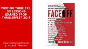 Lessons from Thrillerfest 2014