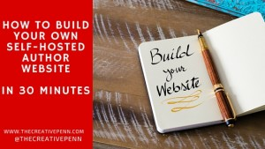 build your own author website
