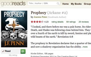 goodreads prophecy
