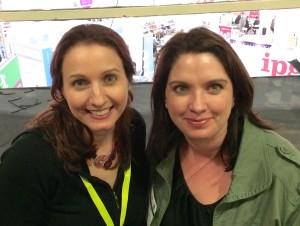 JF Penn with Steena Holmes at LBF 14