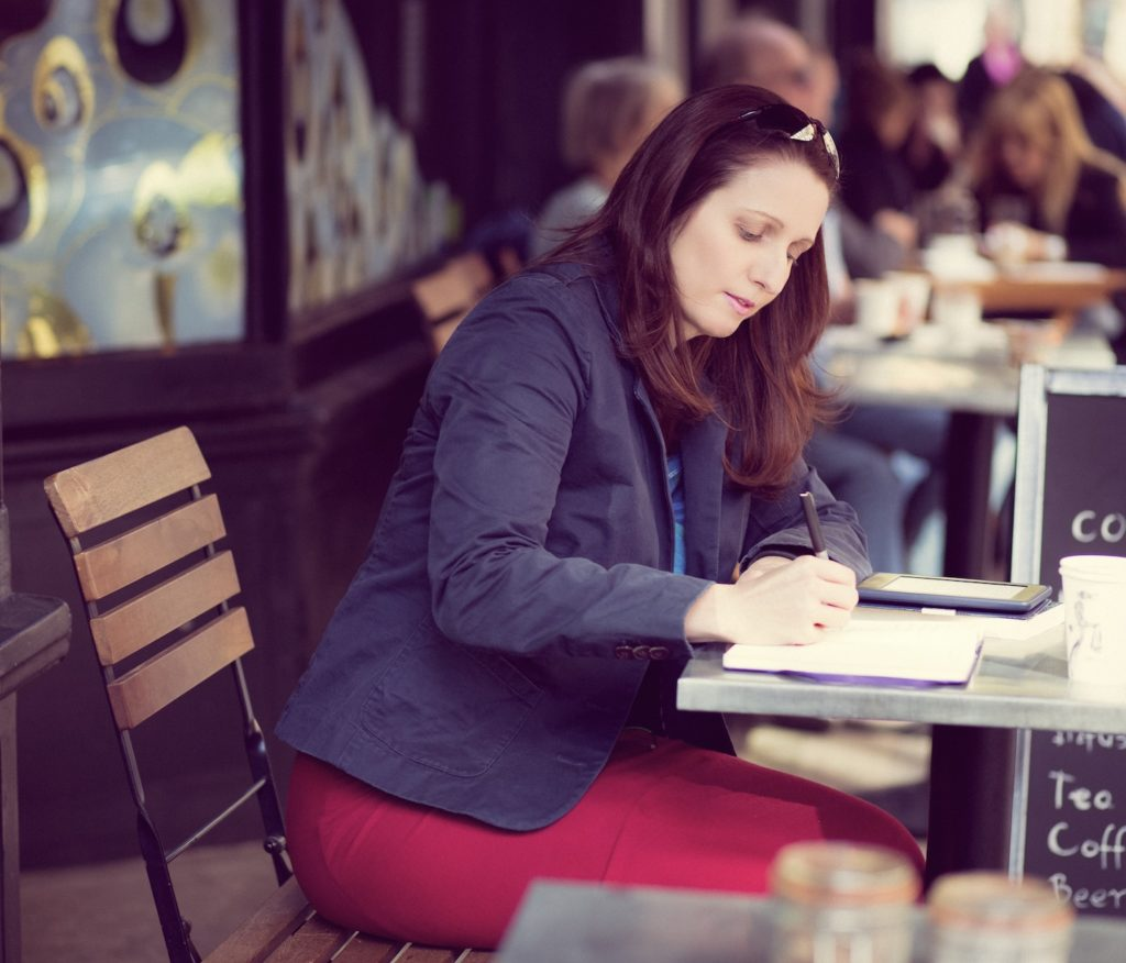 joanna penn writing cafe