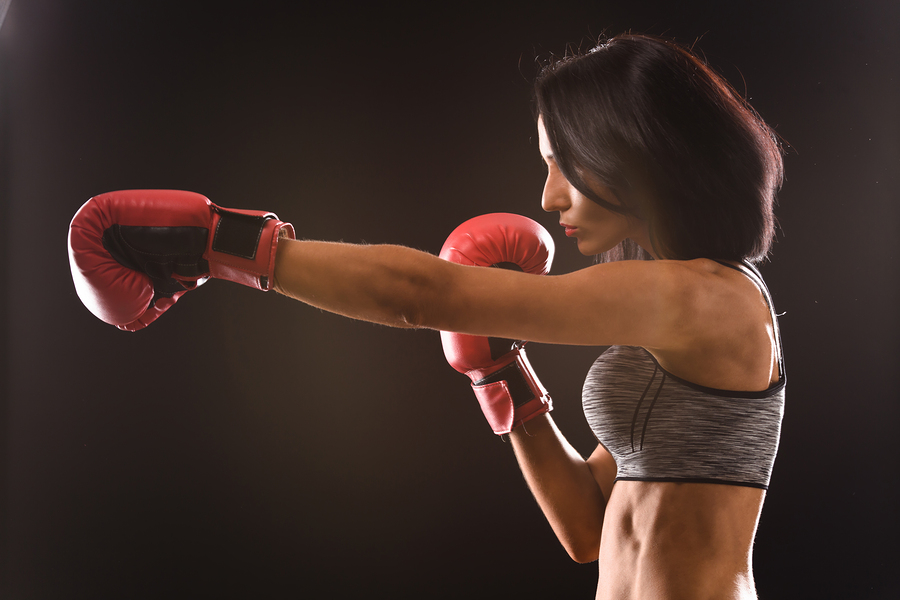 boxing-woman